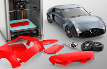 Custom Printed Car Models